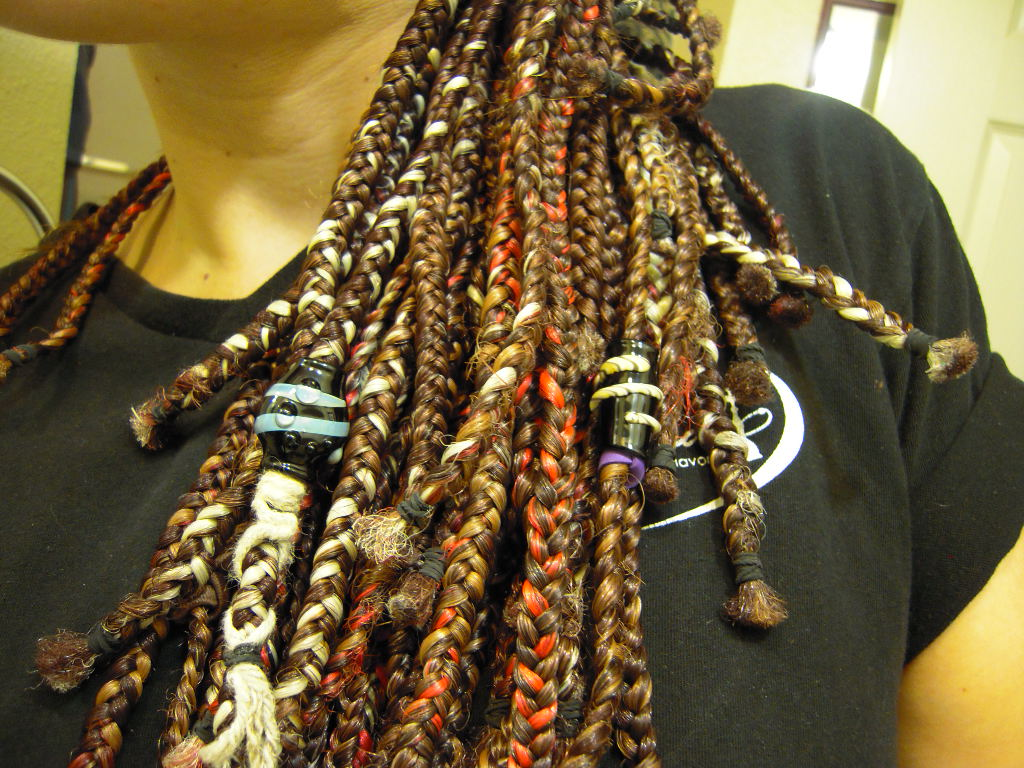 Dreadlock Beads Hand Blown Dread Beads