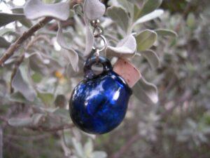 Stash wear earring - Unisex - single cobalt
